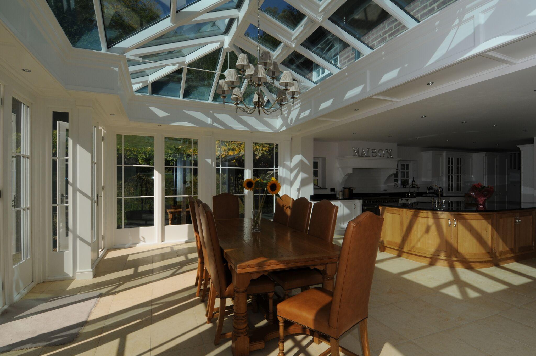 Conservatory lighting ideas for Orangery lighting ideas