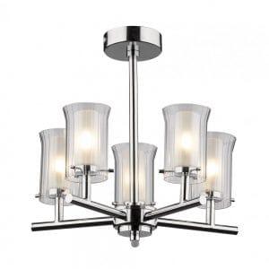 5 Light Bathroom Ceiling Light - £134.40