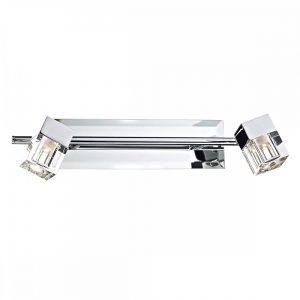Adjustable Bathroom Wall Spotlights in Chrome - £105.00