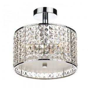 Crystal Bathroom Ceiling Light - £246.00