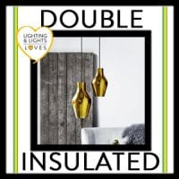 Double Insulated Lights | Lighting and Lights UK