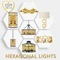 Hexagonal Lights by Lighting and Lights