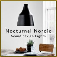 GREY & BLACK SCANDINAVIAN STYLE LIGHTS