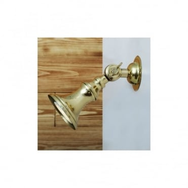ACCRA - Traditional Brass Spot Light Small In Polished Brass