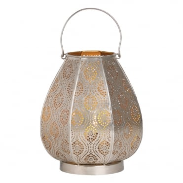 ALIDA Table Lamp Nickel Outer Gold Inner