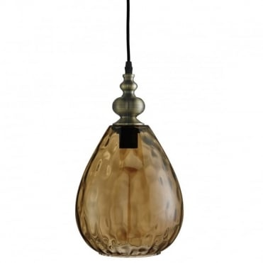 AMBER - Dimp LED Amber Glass Ceiling Pendant