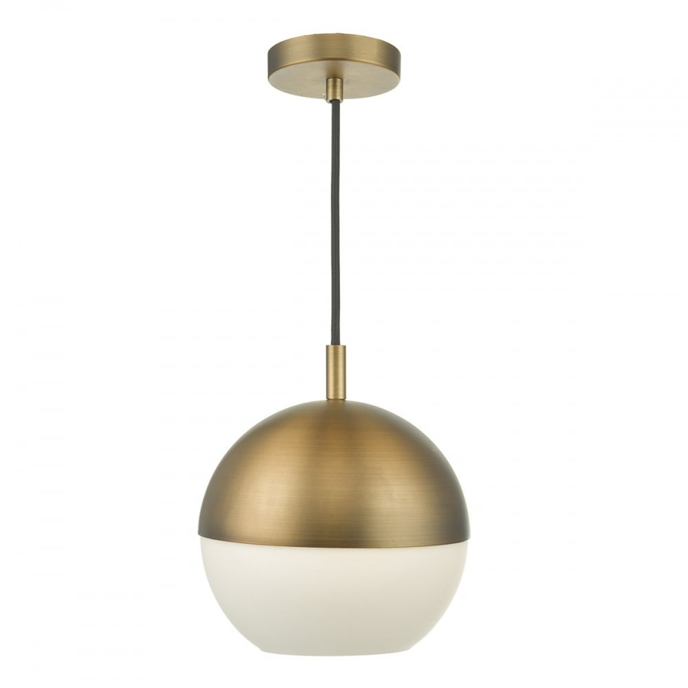andre aged brass ceiling pendant lighting and lights uk
