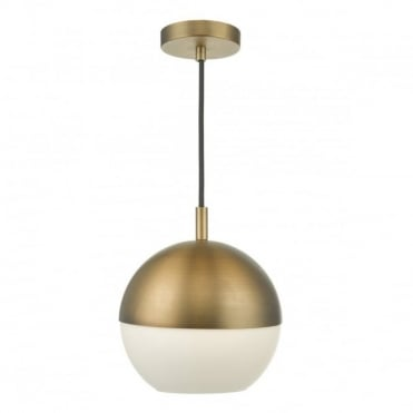 ANDRE - Aged Brass Ceiling Pendant