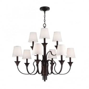 ARBOR - Creek 9 Light Chandelier