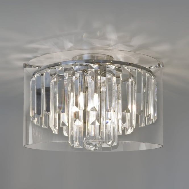 ASINI - Crystal Glass Bathroom Ceiling Light