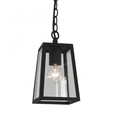 CALVI - Outdoor Lantern Pendant In Black