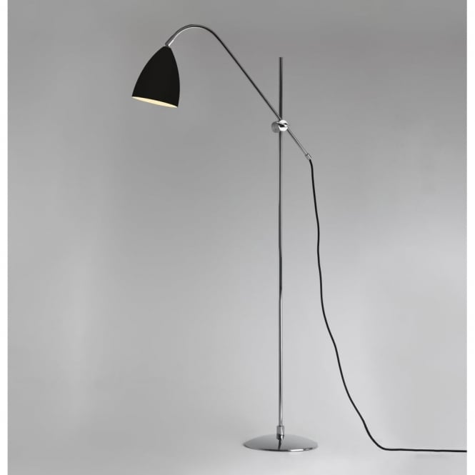 JOEL - Contemporary Floor Lamp (Black)
