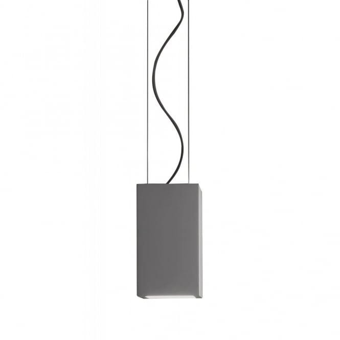 OSCA - Modern Square Ceiling Pendant Plaster - Paint in your own choice of colour!