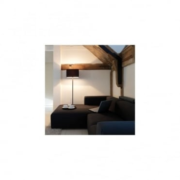 PARK - Lane Bronze Floor Lamp With Black Shade