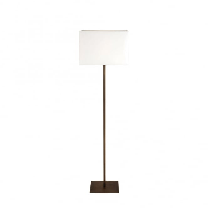 PARK - Lane Bronze Floor Lamp With White Shade