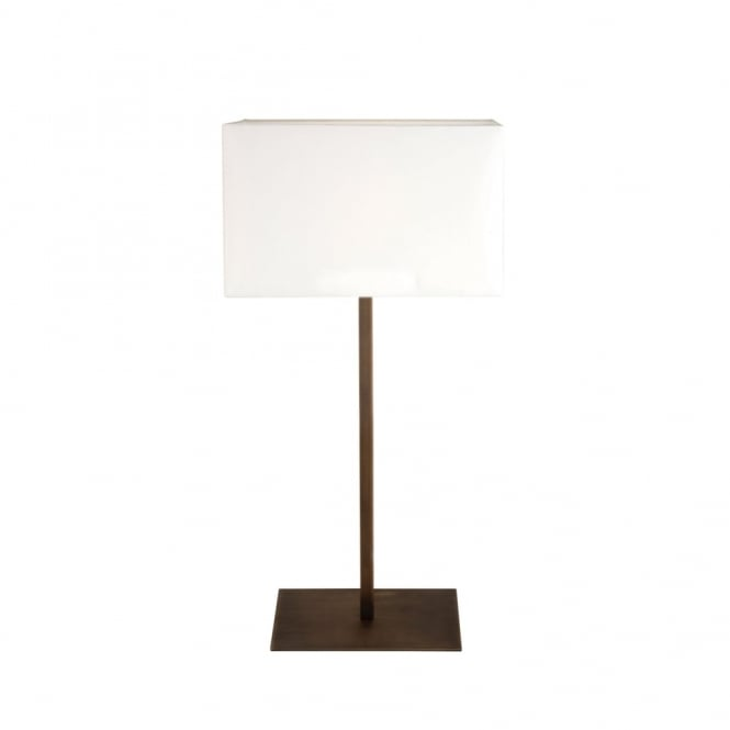 Astro PARK - Lane Bronze Table Lamp With White Shade