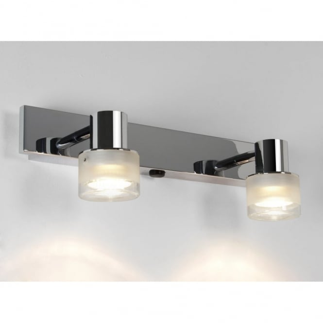 TOKAI - Chrome Bathroom Double Wall Light