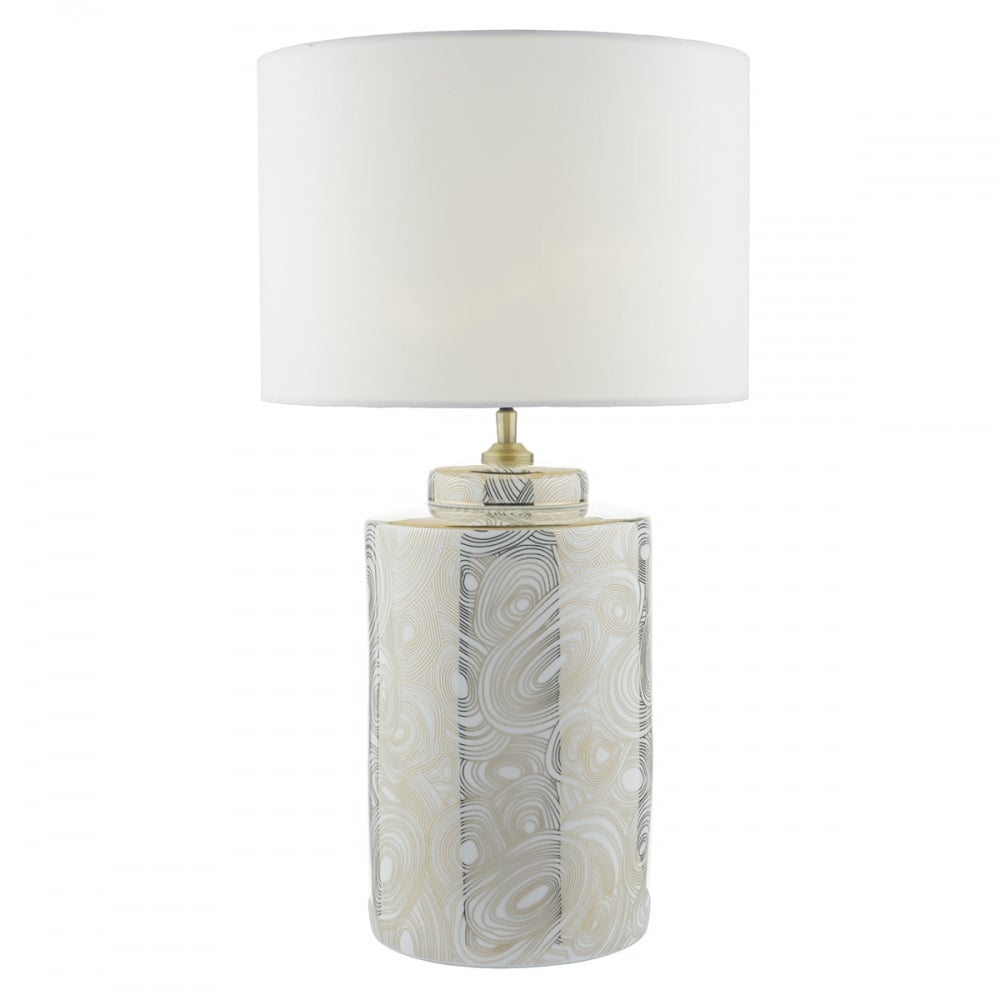 Ayesha white gold table lamp base only lighting and lights uk ayesha white gold table lamp base only aloadofball Images