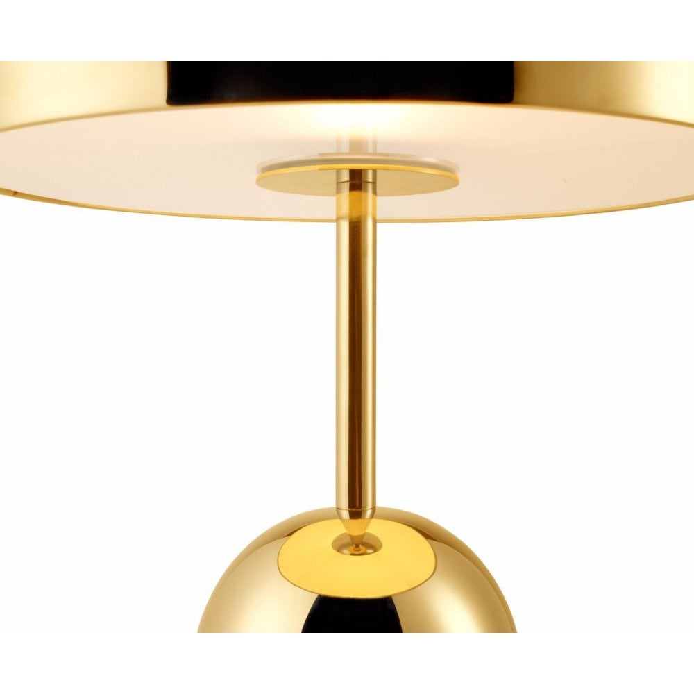 Tom Dixon Bell Table Lamp Brass Dimmer, Bedside Lamp With Dimmer Switch