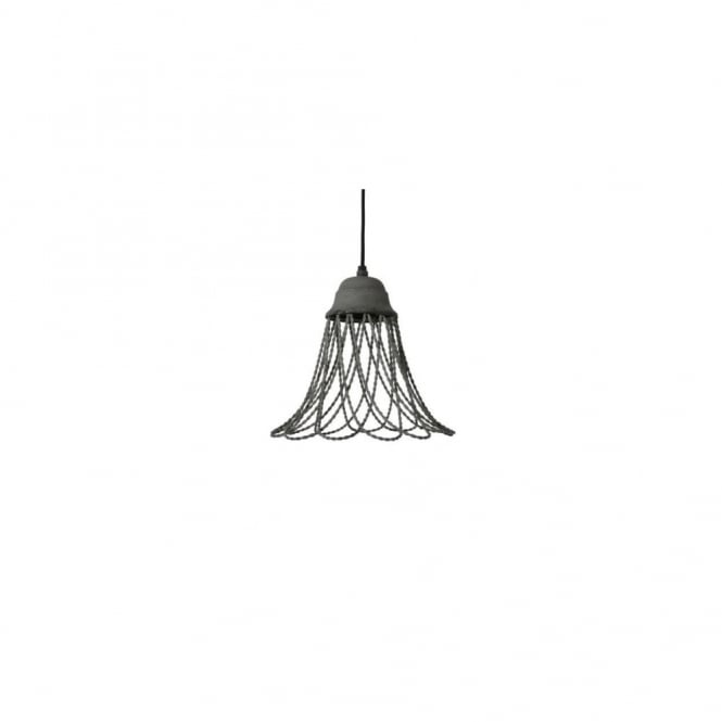 BEVERLY - Wire Cement Hanging Lamp 25X26Cm