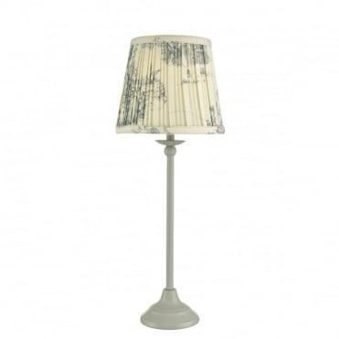 BITSY - Table Lamp Grey with Shade