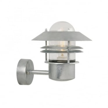 BLOKHUS - Modern Exterior Wall Light Galvanised Steel