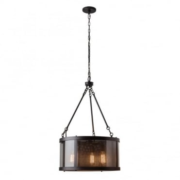 BLUFFTON - 3 Light Ceiling Pendant