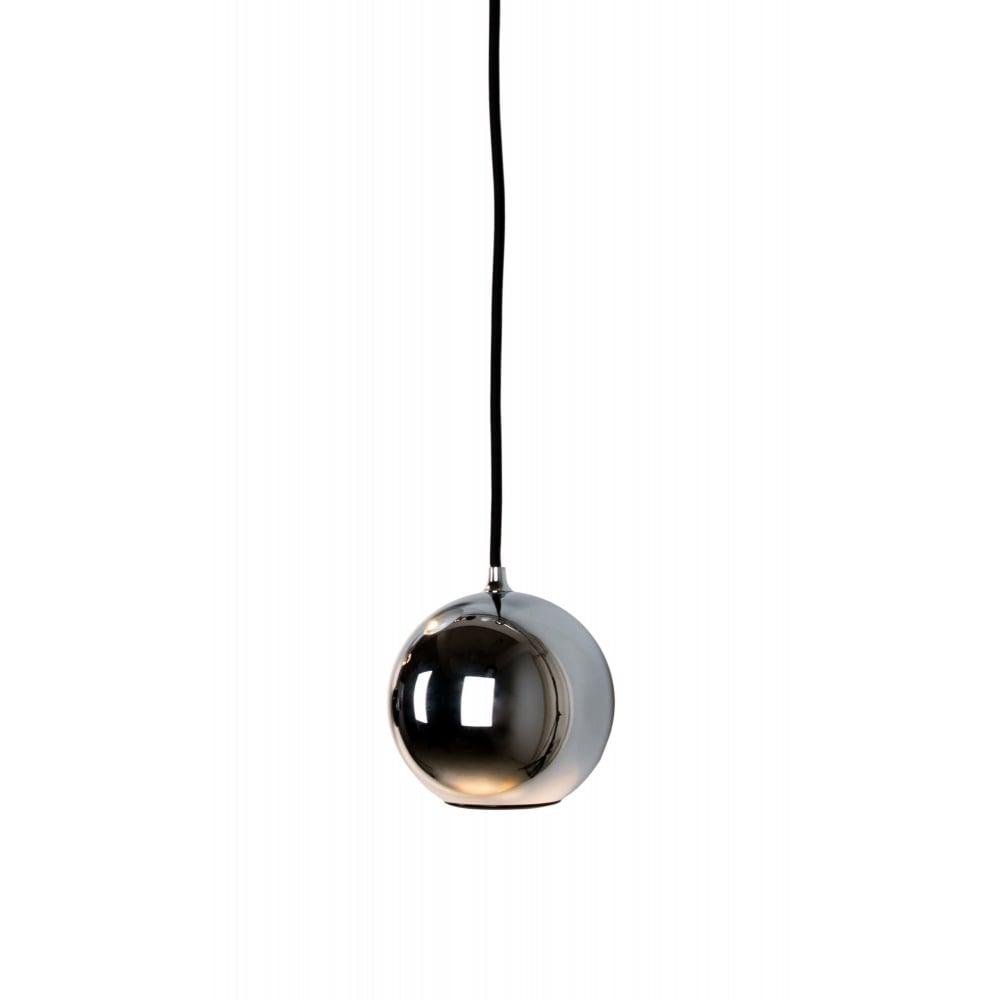 spherical lighting. BOULE - Spherical Polished Chrome Ceiling Pendant Spotlight Lighting E