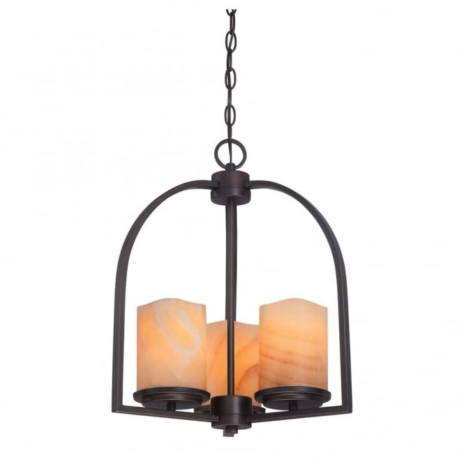 Broadway American Collection ALDORA - 3 Light Ceiling Pendant