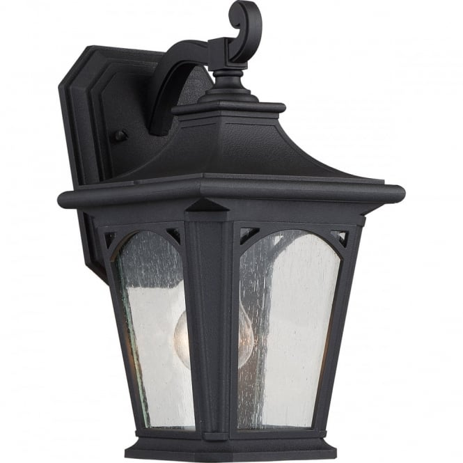 Broadway American Collection BEDFORD 1 Lt Sml Wall Lantern Mystic Black