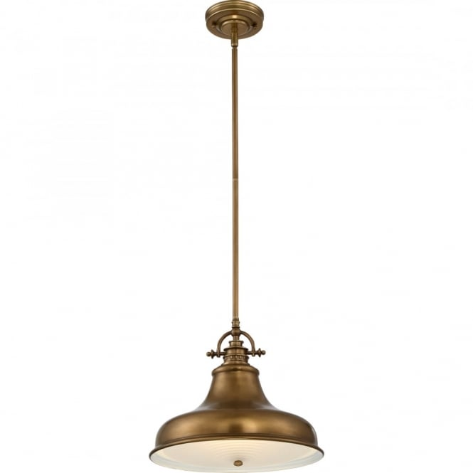 Broadway American Collection EMERY - Weathered Brass Medium Ceiling Pendant