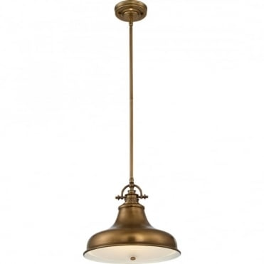 EMERY - Weathered Brass Medium Ceiling Pendant