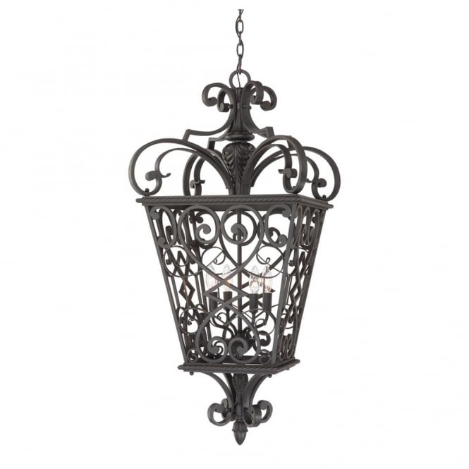 Broadway American Collection FORT - Quinn 4 Light Chain Lantern