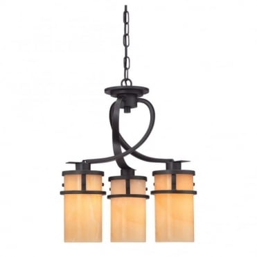 KYLE - 3 Light Dinette Chandelier