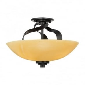 KYLE - Large Semi Flush Ceiling Mount