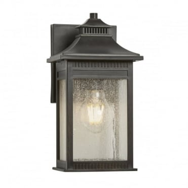 LIVINGSTON 1 Light Small Exterior Wall Lantern Imperial Bronze