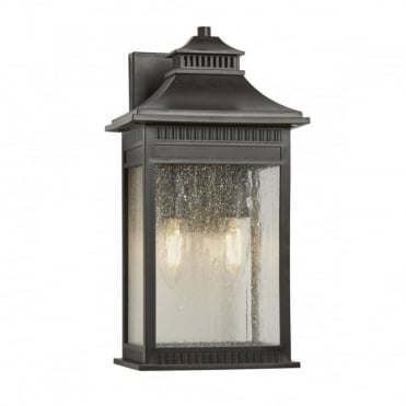 LIVINGSTON 2 Light Medium Exterior Wall Lantern Imperial Bronze