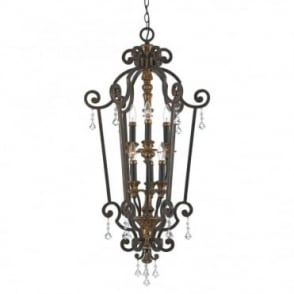 MARQUETTE French chandelier style ceiling pendant or lantern