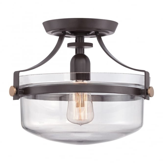 Broadway American Collection PENN - Station Semi Flush