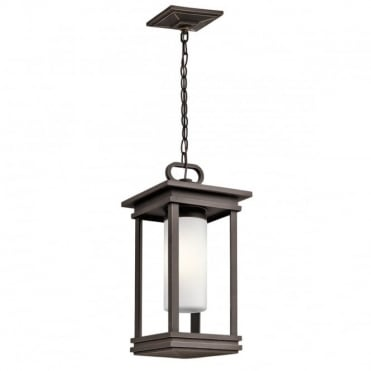 SOUTH Hope Exterior Ceiling Pendant Rubbed Bronze