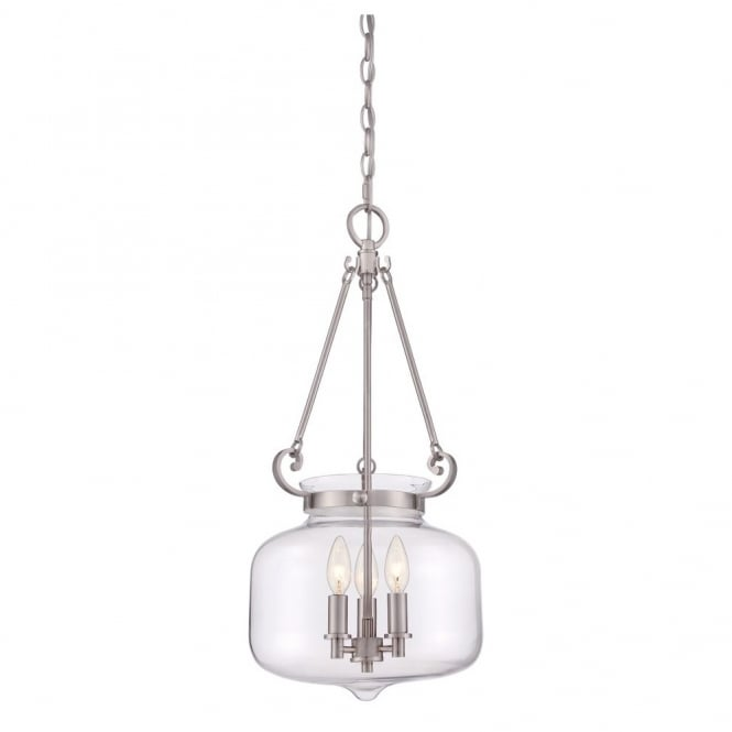 Broadway American Collection STEWART - 3 Light Ceiling Pendant