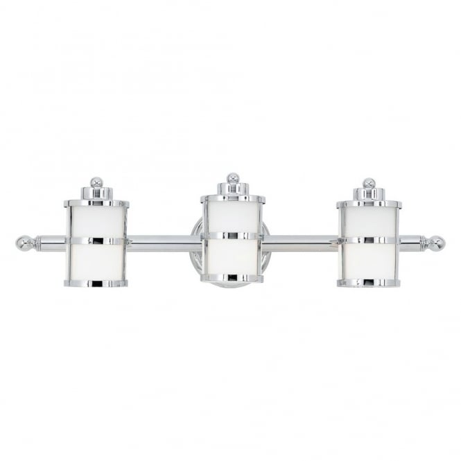 Broadway American Collection TRANQUIL - Bathroom Bay 3 Light Above Mirror Light