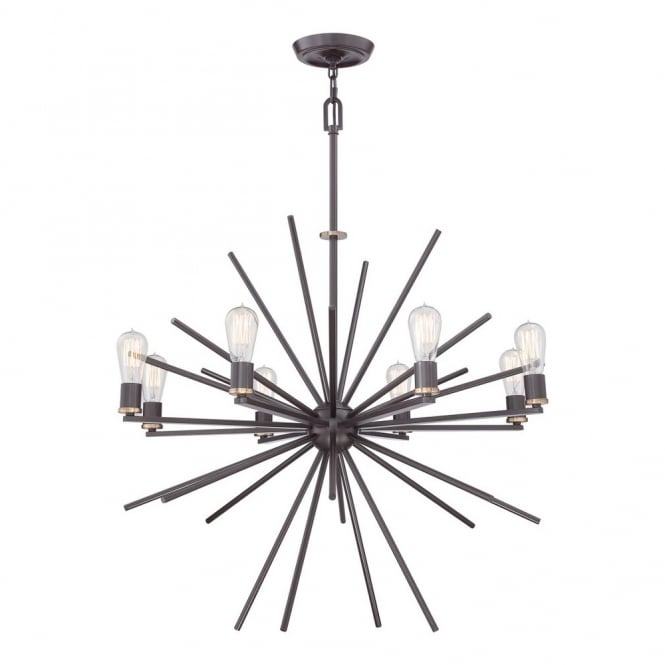 Broadway American Collection UPTOWN - Carnegie 8 Light Chandelier
