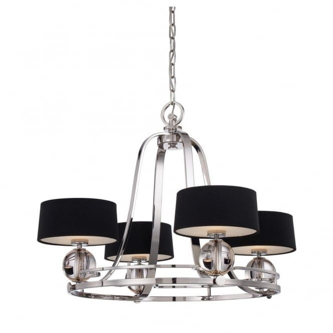 Broadway American Collection UPTOWN - Gotham 4 Light Chandelier
