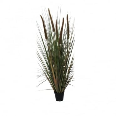 BULLRUSH - Tall decorative faux plant