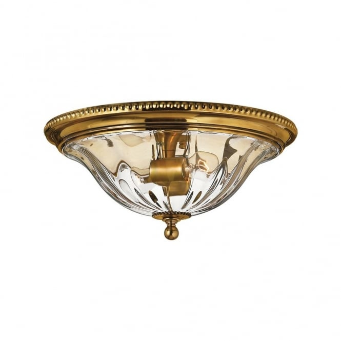 CAMBRIDGE - Flush Ceiling Mount in Gold, Brass