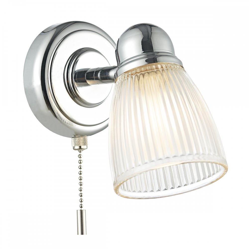 Holophane Gass Chrome Switched Bathroom Light - Lighting ...