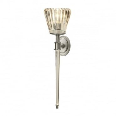 AGATHA 2 Light Bathroom Wall Light Nickel