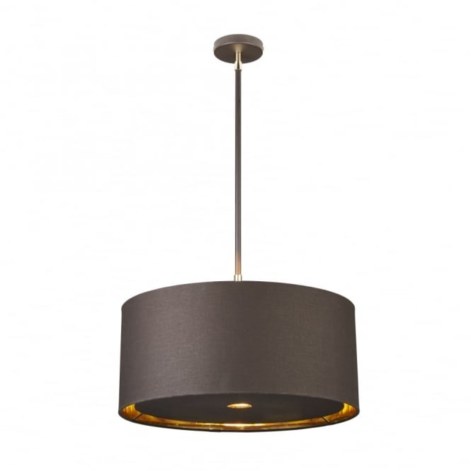 Chester Collection BALANCE - Brown/Polished Brass Ceiling Pendant