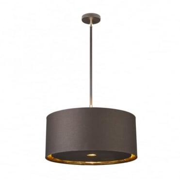 BALANCE - Brown/Polished Brass Ceiling Pendant